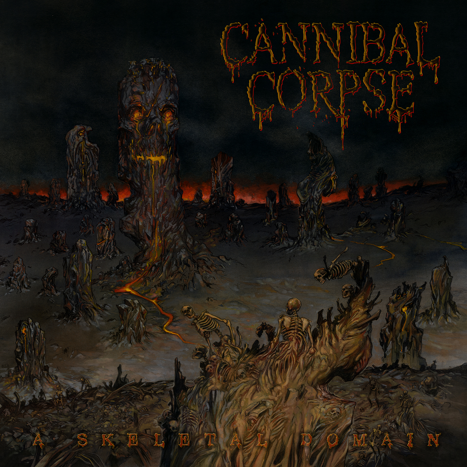 cannibal corspe - a skeletal domain