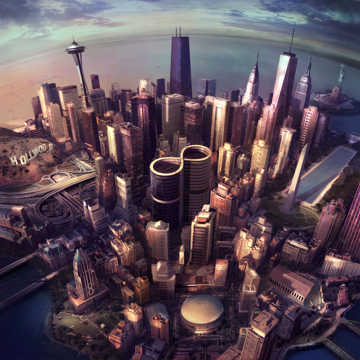 foo foghters - sonic highways