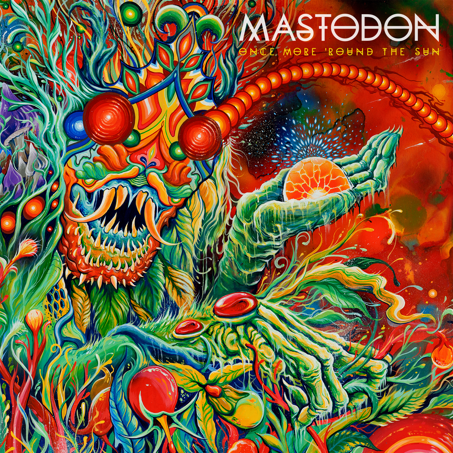 mastodon - one more round the sun