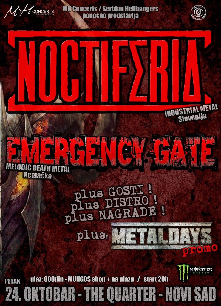 NOCTIFERIA - EMERGENCY GATE - 24.10. The Quarter, Novi Sad.doc