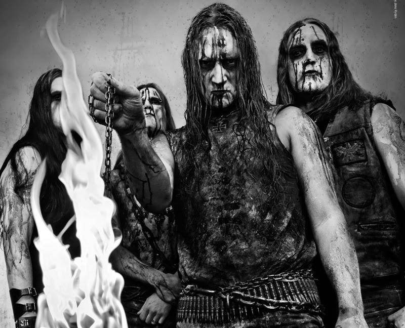 Marduk, march 2012Left to right: Devo, Lars, Mortuus, Morgan